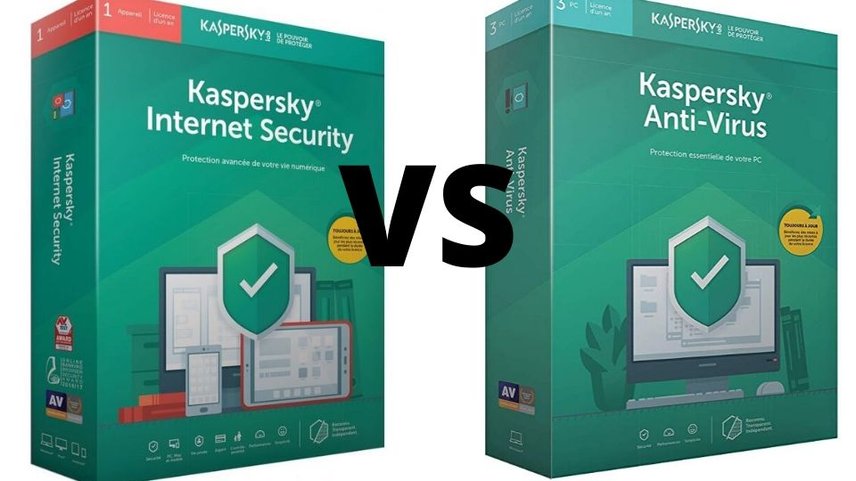 Antivirus vs internet security